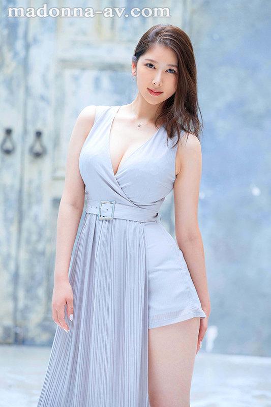 「高嶺の花なんかじゃないけん…。」8頭身、博多美人、肩書きのない専業主婦 青田悠華 30歳 AV Debut 画像1