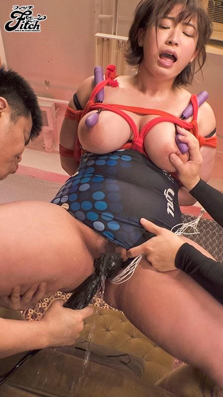 爆乳ドMな元・競泳選手の変態願望を叶える肉塊凌●SEX 藤沢麗央