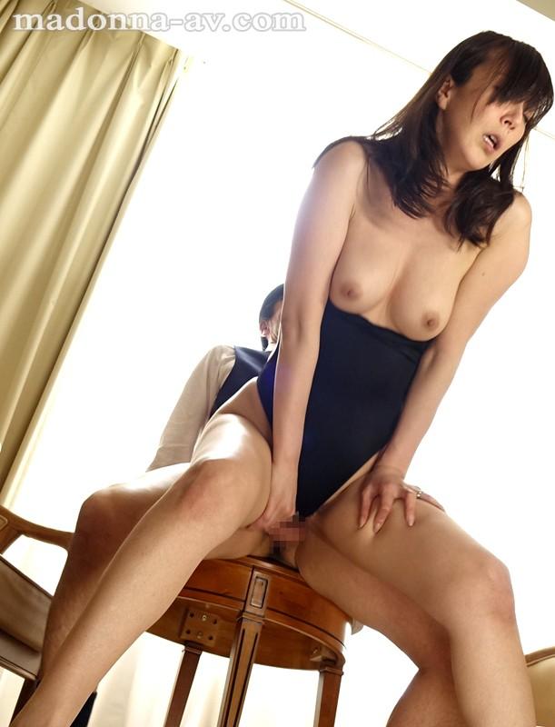 【美乳】 人妻ハイレグ羞恥 澤村レイコ キャプチャー画像 4枚目