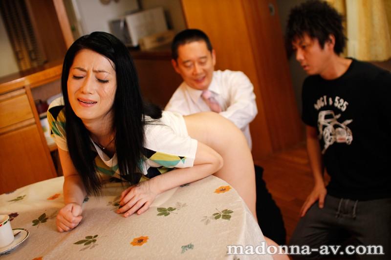 【スレンダー】 アナルファック解禁!息子の為に犯された母の処女アナル 七海ひさ代 キャプチャー画像 2枚目