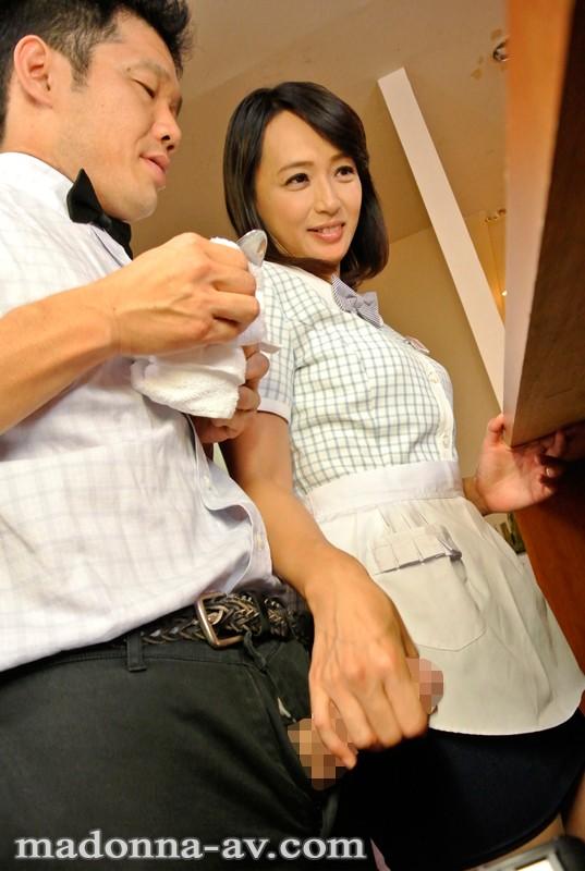 【人妻】 バイト先で知り合った素敵な奥さん 安野由美 キャプチャー画像 2枚目