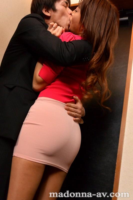 【人妻】 今夜、上司の奥さんと二人きり… 松嶋葵 キャプチャー画像 1枚目
