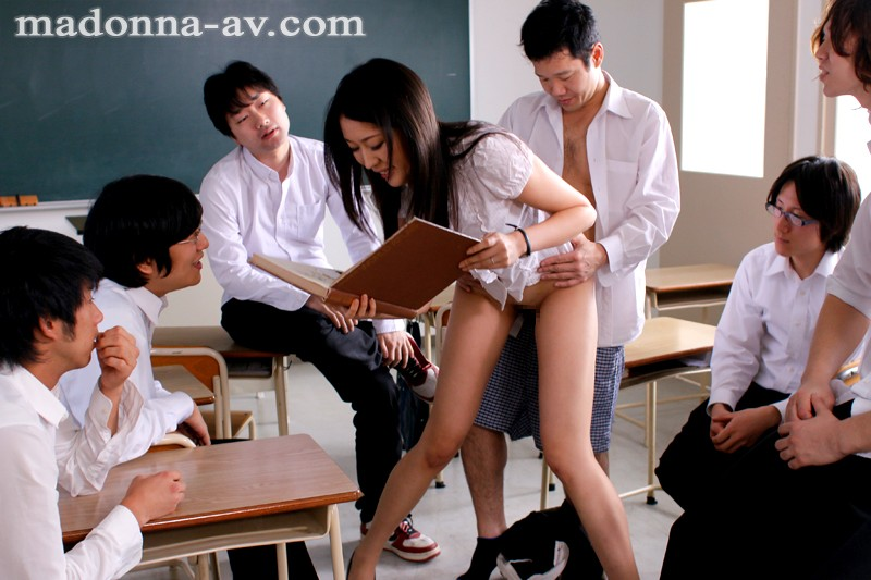 【輪姦】 人妻女教師 長身を弄ばれて、犯されて…。 中村紗綾 キャプチャー画像 9枚目