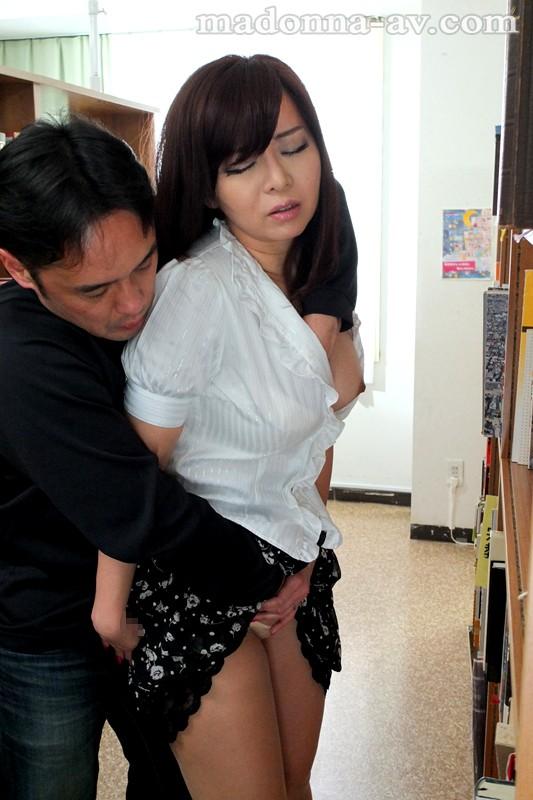 【巨乳】 人妻女教師 痴漢電車~教え込まれた面前羞恥の悦び~ KAORI キャプチャー画像 4枚目