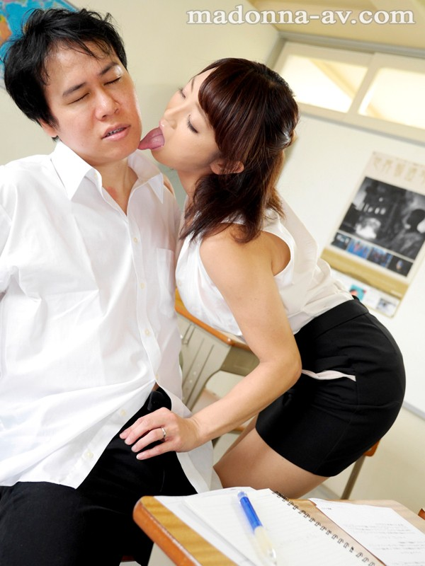 【職業色々】 女教師優香の誘惑授業 大島優香 キャプチャー画像 1枚目