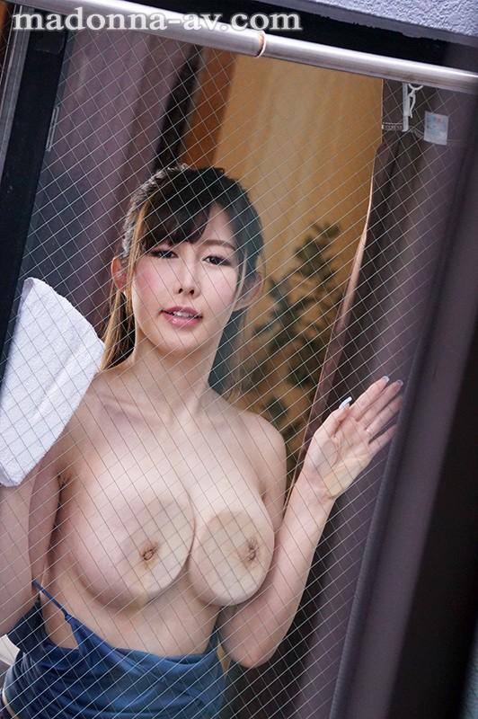 絶品最強グラマラス美女《移籍》初登場!! 向かい部屋の人妻 あかぎ碧 キャプチャー画像 8枚目