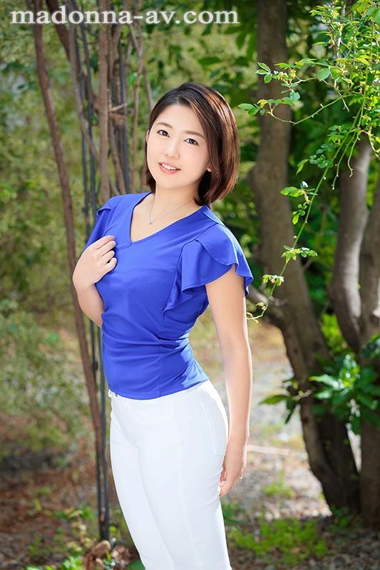 「私を滅茶苦茶にして下さい」 プライベートは命令されたい 隠れドMの人妻キャリアウーマン 上野朱里 30歳 AVDebut!! 1枚目