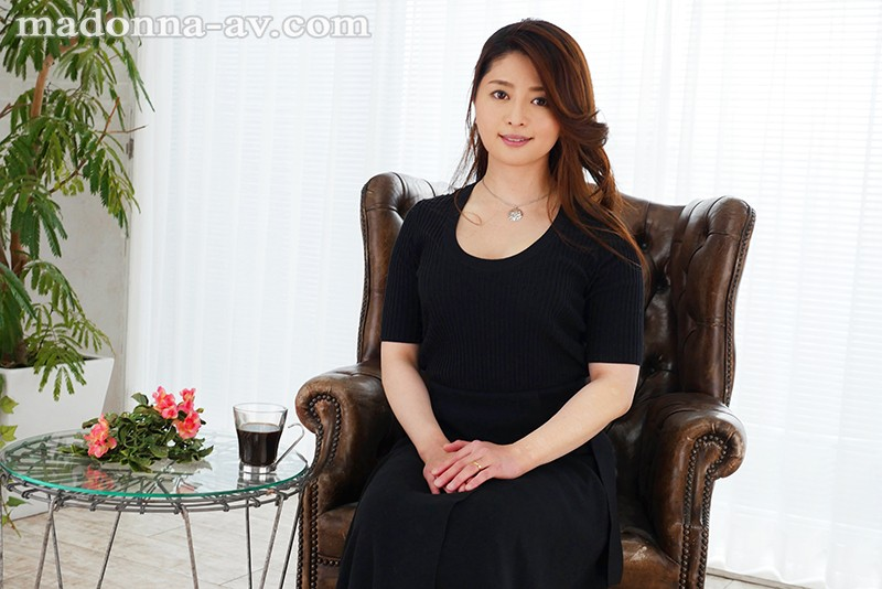 JUY-924 Studio Madonna - An Erotic And Cool Married Woman Who Is Glowing With A Powerful Erotic Aura Ryoko Maki 34 Years Old Her Adult Video Debut!! - big image 1
