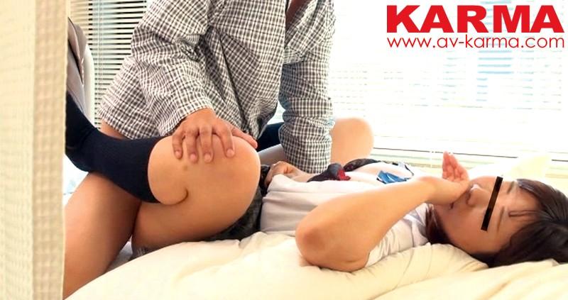 【巨乳】 病室盗撮 女子校生お見舞いセックス 若いからガマンできないんです…(KAR-591) キャプチャー画像 4枚目
