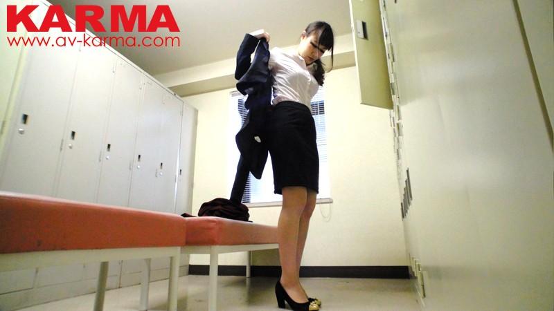 東京渋谷区某オフィス内撮影 OLロッカー室 更衣 高画質盗撮動画 画像7