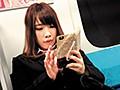電車内で居眠り、スマホ操作に夢中になっている制服美少女、OLさんたちのパンチラ盗撮動画