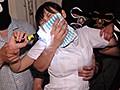 夜勤巡回中の美人看護師を狙ったクロロホルム昏睡レイプ