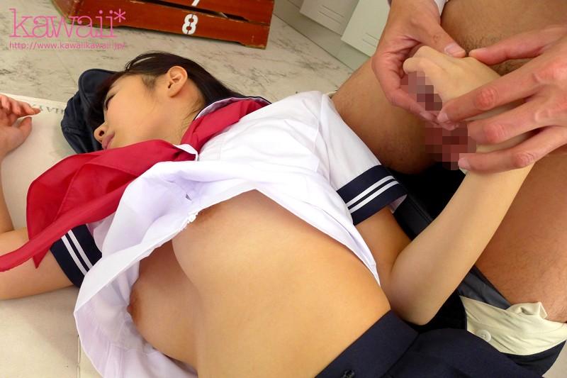 【セーラー服】 kawaii* High School 学校でセックchu キセキのハミ乳女子校生 稀夕らら キャプチャー画像 8枚目