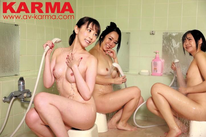 関東圏某温泉宿泊施設撮影 女湯 脱衣所 浴室 盗撮エロ動画のサンプル画像