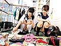 [KRU-051] 都内フリーマーケット会場で盗撮された制服美少女たちの胸チラ&パンチラ動画