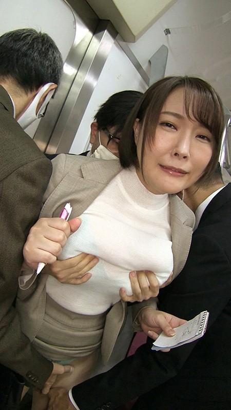 肉感編集部〜パート主婦ありささん(Iカップ)の体験告白・突撃取材編〜 羽生ありさ 5枚目