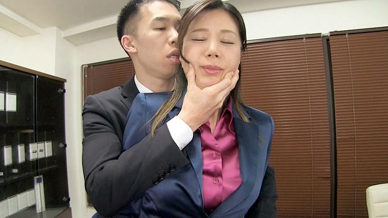 女上司仁美さんの艶やかスーツとツルてろサテンブラウス 不倫部下の逆転レ○プ編 片瀬仁美 6枚目