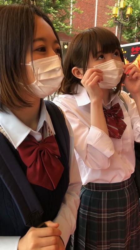 噂の歌舞伎町Wアナル少女2人組 オジサン4人と4穴生中出しSEX(6P乱交) 画像1