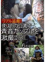 リアル盗撮!夜(昼)の公園で青姦カップルを激撮!! 5
