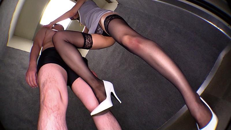 密着しながら淫語で誘惑する痴女お姉さん 西田那津|無料エロ画像10