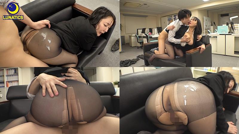 これは残業中のオフィスでデカ尻女上司の肉感タイトスカート尻に我慢できず毎日尻射した記録映像です。 羽生アリサ10
