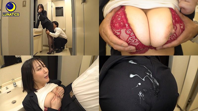 これは残業中のオフィスでデカ尻女上司の肉感タイトスカート尻に我慢できず毎日尻射した記録映像です。 羽生アリサ4