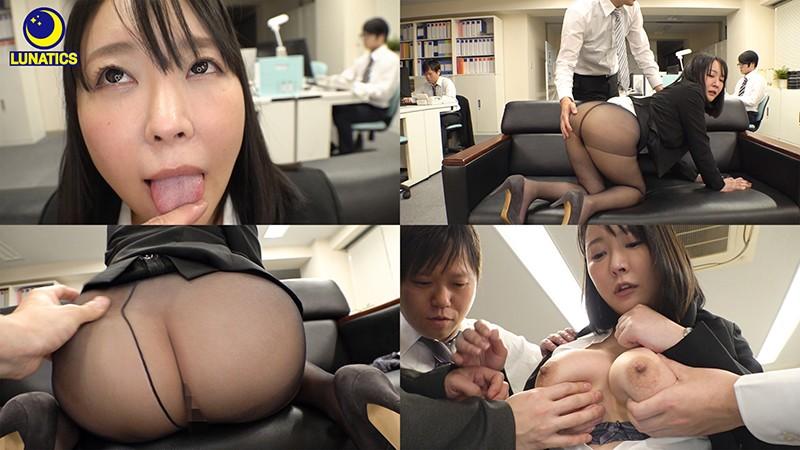 これは残業中のオフィスでデカ尻女上司の肉感タイトスカート尻に我慢できず毎日尻射した記録映像です。 羽生アリサ8