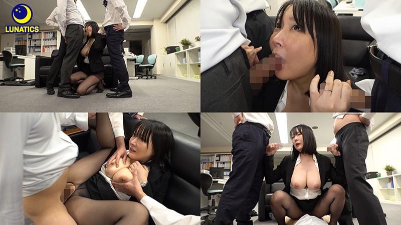これは残業中のオフィスでデカ尻女上司の肉感タイトスカート尻に我慢できず毎日尻射した記録映像です。 羽生アリサ9