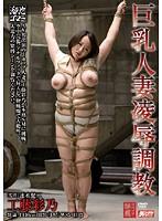 巨乳人妻凌辱調教 工藤彩乃 ダウンロード