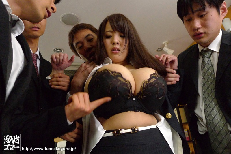 【輪姦】 犯された爆乳女上司 Hitomi-復讐の社畜サービス残業レ×プ- キャプチャー画像 1枚目