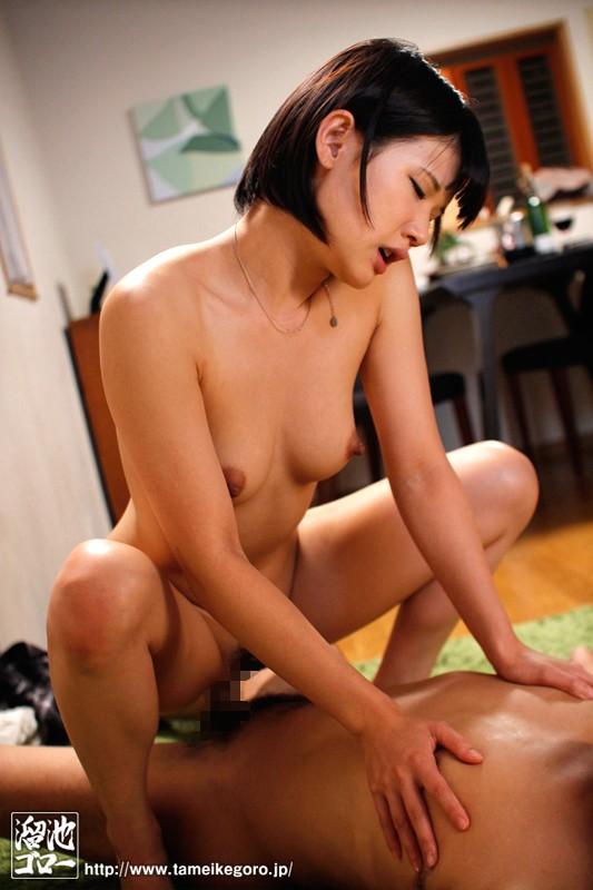 【貧乳・微乳】 隣の浮きブラ奥さん 白咲碧 キャプチャー画像 8枚目