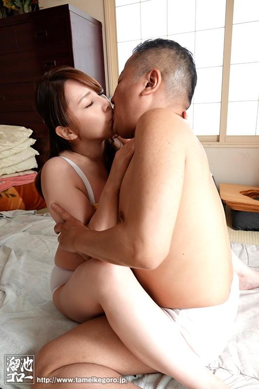 欲求不満な団地妻と孕ませオヤジの汗だく濃厚中出し不倫 風間ゆみ