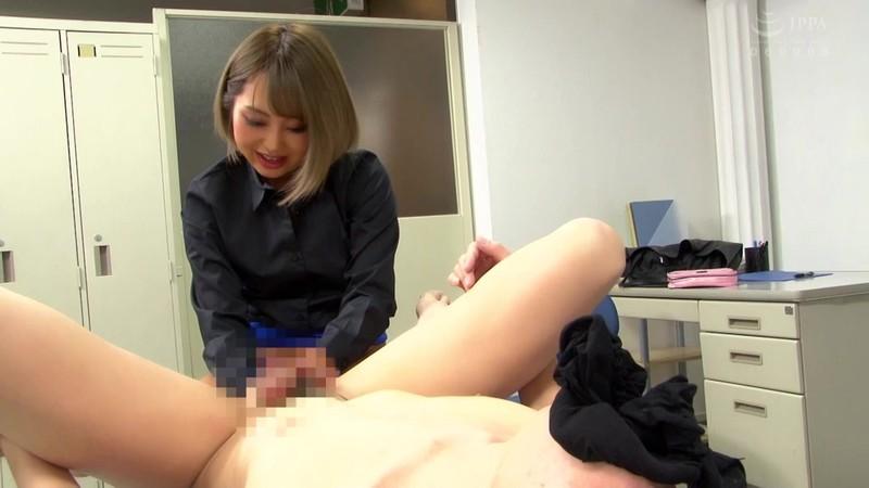 同僚の派手ギャルOLは高級痴女M性感で働くアナル責め風俗嬢 椎木くるみ 画像8