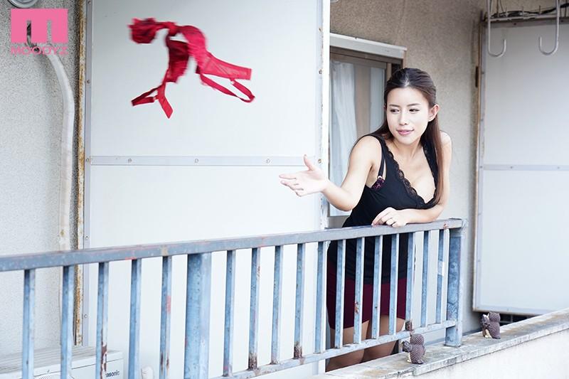 隣人妻×逆NTR 彼女の不在中に隣の淫乱巨乳妻に何度も何度も犯●れ痴女られてしまった僕… 永井マリア
