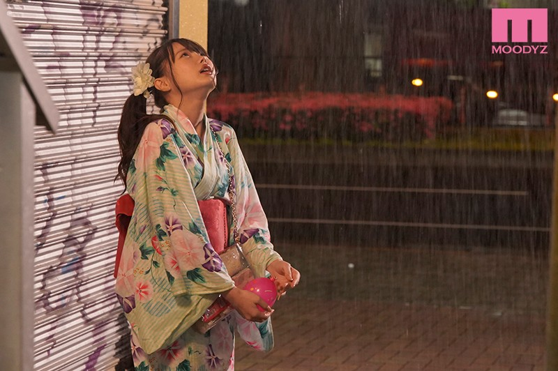 彼氏と離れたほんの3分間、止まない雨の中ゲス元彼に連れ去られ浴衣を剥がされ中出しされ続けた 雨の夏祭りNTR 松本いちか