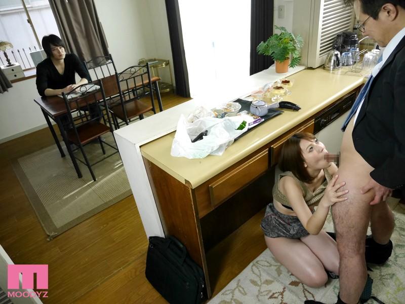 【ボディコン】 むっちり巨乳家庭教師の密着誘惑 本田莉子 キャプチャー画像 8枚目