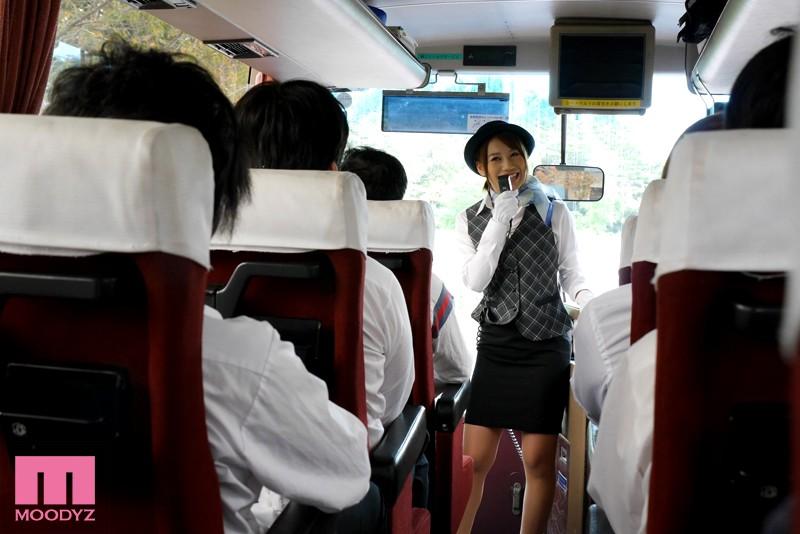【お姉さん】 修学旅行で生徒に犯され続けたバスガイド 本田莉子 キャプチャー画像 1枚目