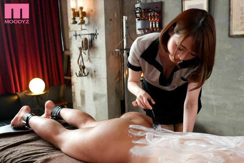 M男の人体を固定する連続射精回春マッサージサロン 本田岬 画像3