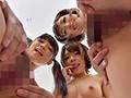 セクシーボインの女教師とエッチな小悪魔女子校生たちが主観×バイノーラルで淫語囁きハーレム手コキ責め(3)