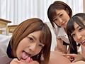 セクシーボインの女教師とエッチな小悪魔女子校生たちが主観×バイノーラルで淫語囁きハーレム手コキ責め(5)