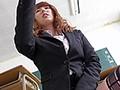 タイトスカート女教師のむっちり太もも誘惑絶対領域 波多野結衣
