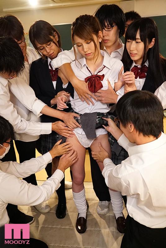 苛めっ娘ヤンキーをクラス全員で協力して禁欲中出し輪●で孕ませるまでの七日間計画 咲々原リン 画像7