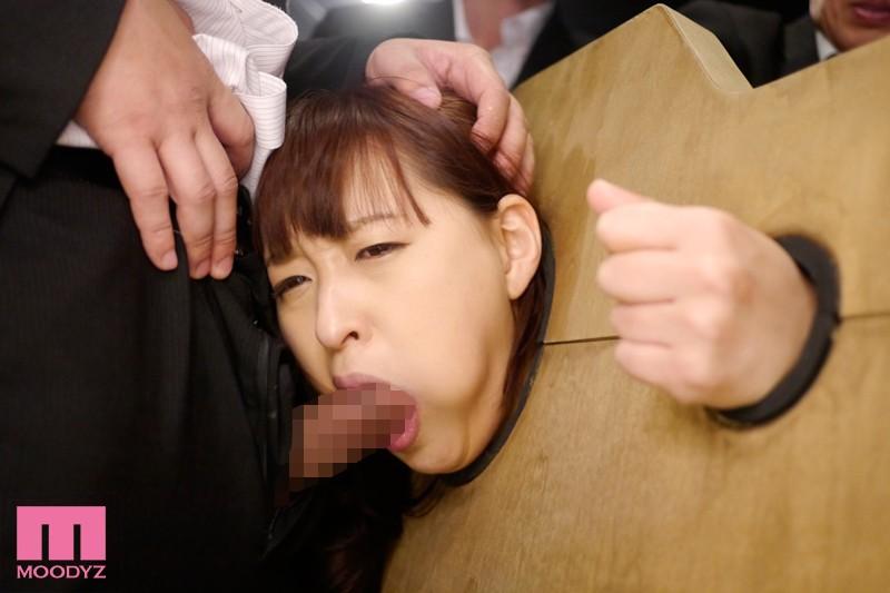【拘束】 美人受付嬢 人体固定レイプ 周防ゆきこ キャプチャー画像 8枚目