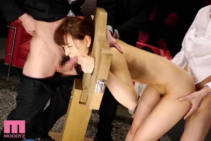 【拘束】 美人受付嬢 人体固定レイプ 周防ゆきこ キャプチャー画像 9枚目