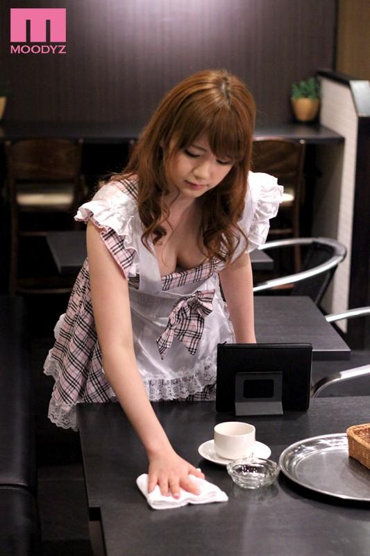 【コスプレ】 フェラチオご奉仕 おしゃぶりカフェ 西川ゆい キャプチャー画像 5枚目