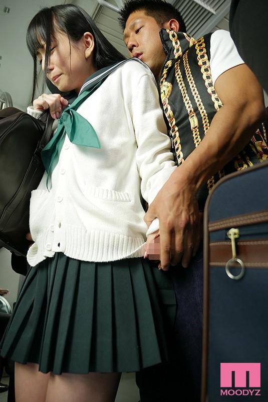 痴漢に溺れて…―通学中に襲われた敏感体質の制服美少女― 七沢みあ