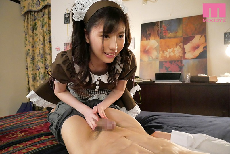 MIDE-779 She's Ready To Immediately Suck Dick And Quickie Fuck The Total Domain Of A Shameful Maid Mizuki Aiga