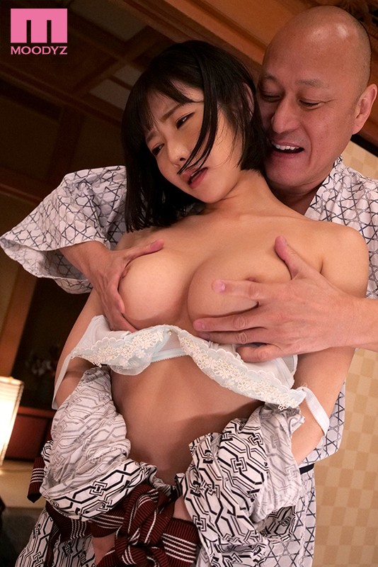 MIDE-829 Studio MOODYZ - I Was On A Business Trip And Entertaining My Client At A Hot Spring Resort But When I Had To Share A Room With This Dirty Old Man, He Made Me Cum Until The Break Of Dawn Yui Shirasaka