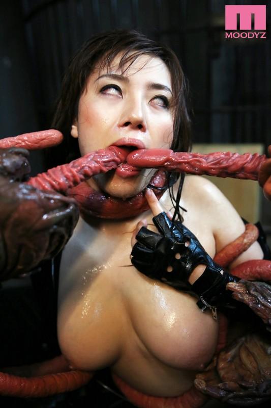 MIGD-501 Studio MOODYZ - Double Penetration by Tentacles - A Female Investigator Looks Back - Azusa Nagasawa