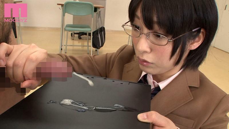 【めがね】 ザーメンソムリエ専門学校 阿部乃みく キャプチャー画像 2枚目